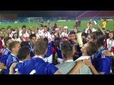Победа студенческой сборной Франции по футболу на Универсиаде 2013 в Казани